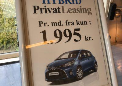 plakatprint med tilbud