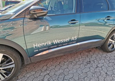 fint logo-mærke til bil