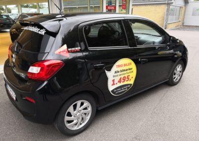 billige spotmærker til montage på bil