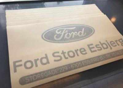 special lavet Ford logo til bilhandler