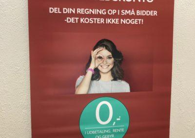 plakat med budskab