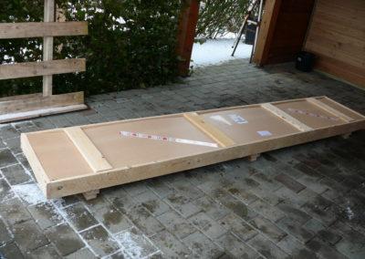 pakke med facade skilt
