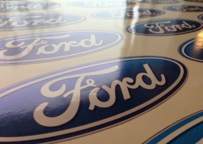 Ford logo til montering på bil