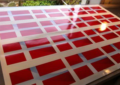 print af flag til dekoration