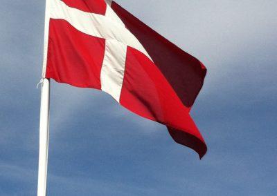 dannebrog flag flagstang